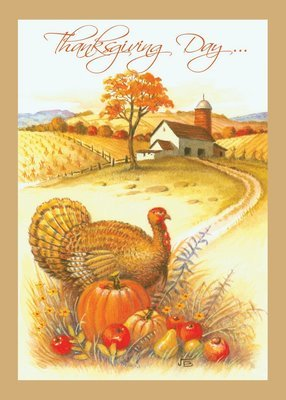 FRS 579 / 7917  Thanksgiving Card