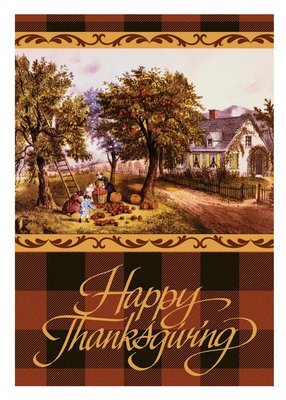 FRS 581 / 7924  Thanksgiving Card