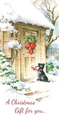 PFRS5701   Money Holder / Christmas