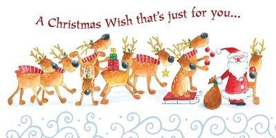 FRS5708  Money Holder / Christmas