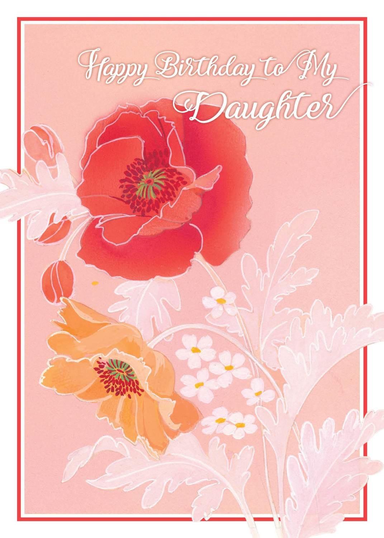 FR0335   Family Birthday Card / Daughter