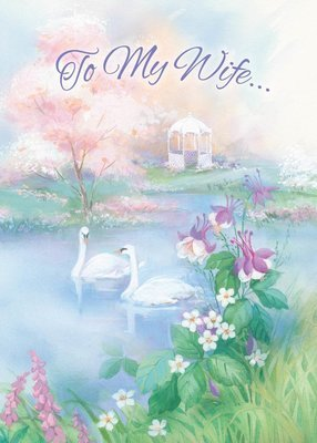 FR0337   Family Birthday Card / Wife