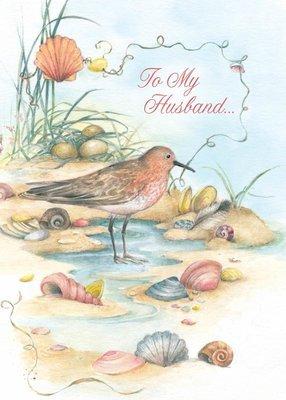 FR0338   Family Birthday Card / Husband