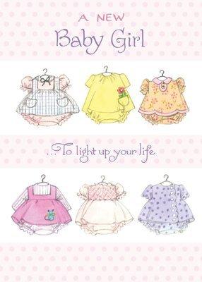 FR1527   Congratulations Baby Card / Daughter