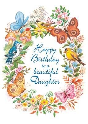 FR0341   Family Birthday Card / Daughter