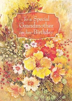 FR0342   Family Birthday Card / Grandmother