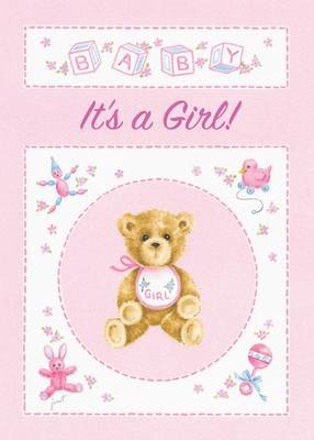 FR1884   Congratulations Baby Card / Girl