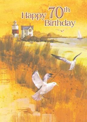 FR8410  Milestone Birthday Card / 70