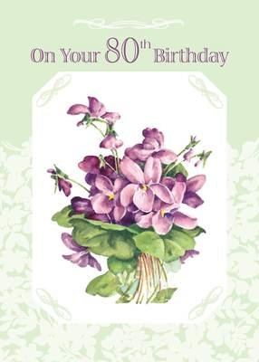FR8413  Milestone Birthday Card / 80