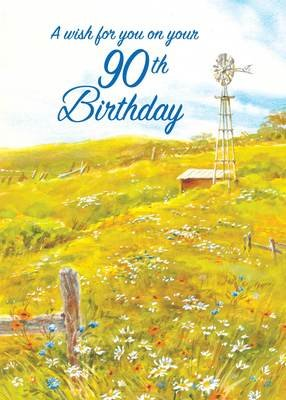 FR8424  Milestone Birthday Card / 90
