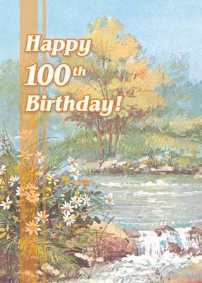 FR8427  Milestone Birthday Card / 100