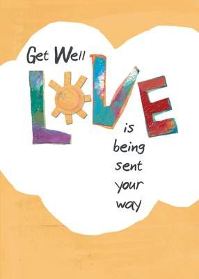 AFH269  Get Well Card