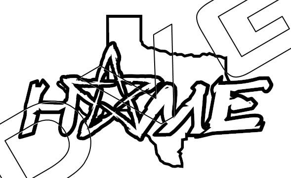 Texas Lone Star Home