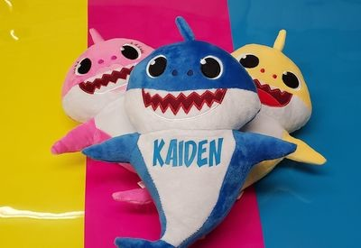 Personalized Singing Baby Shark