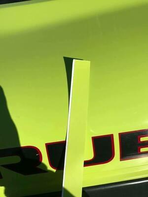 Hypergreen Jeep Vinyl