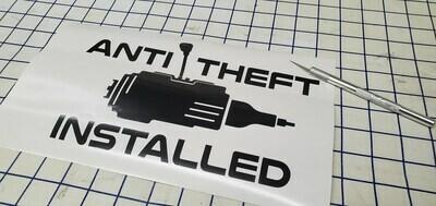 AntiTheft Installed