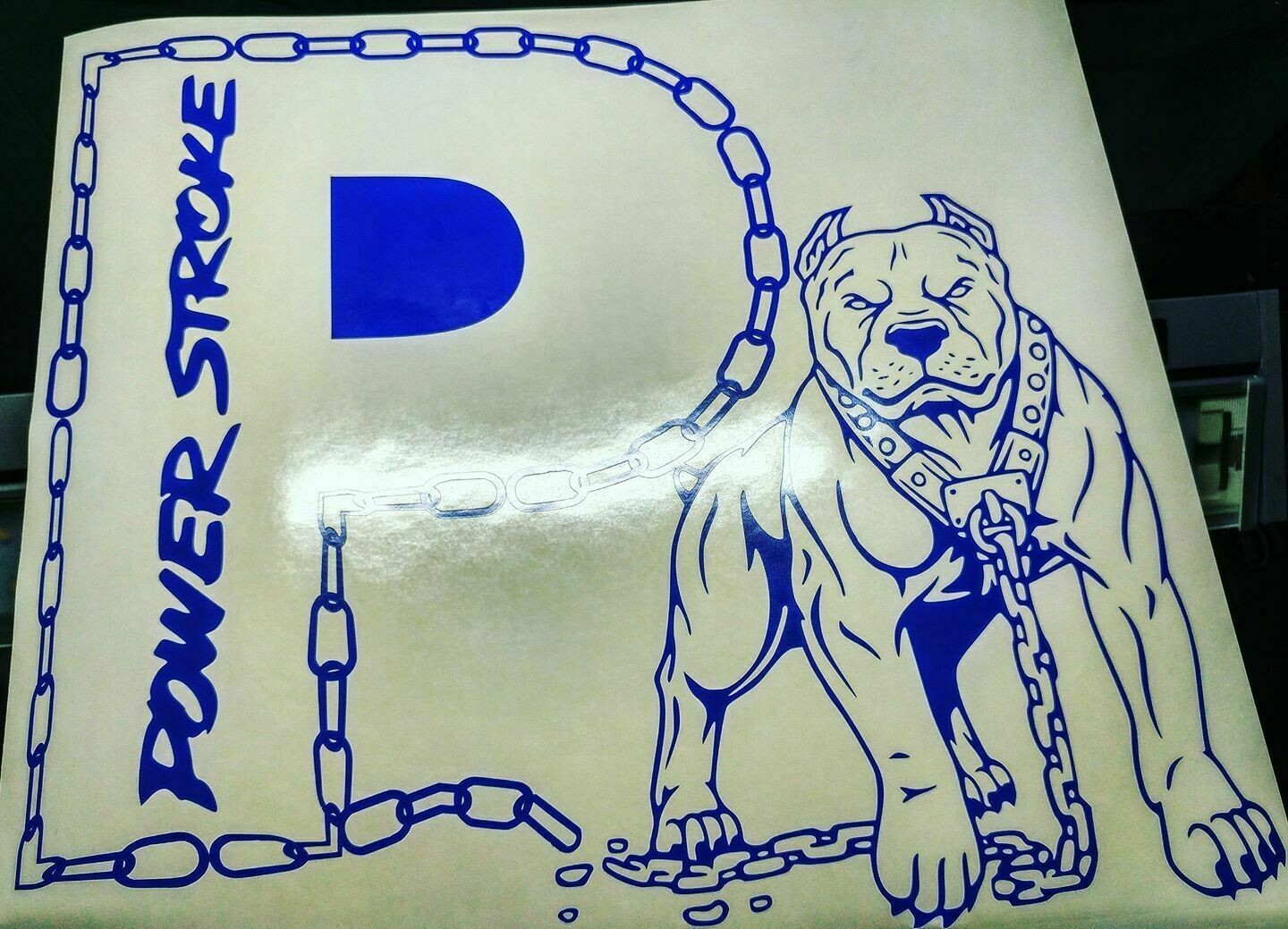 Power Stroke Dog with Chain