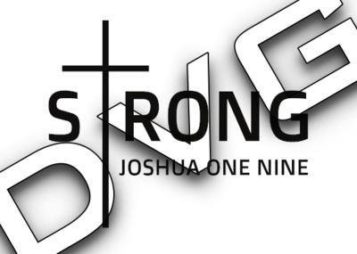 Strong Joshua 1:9
