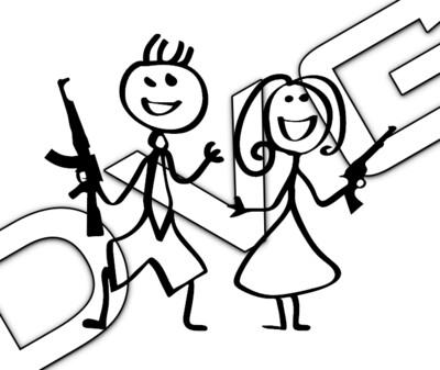 Stick Figure 2A Couple