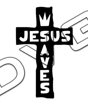 Jesus Saves Cross