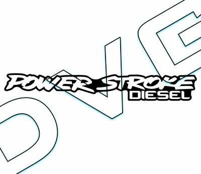 Power Stroke Diesel Badge Decal