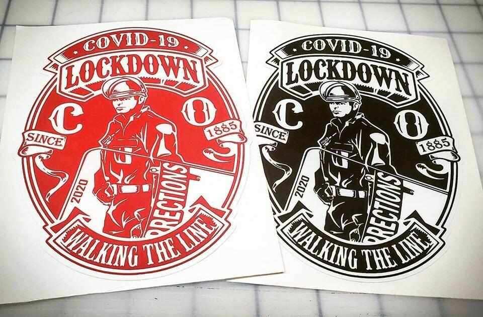 "BOP COVID-19 Lockdown 2020 (6""x4.3"")"