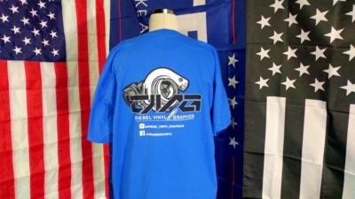 DVG Blue Shirt (Medium)