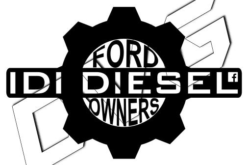 IDI Diesel Owners Group Decal