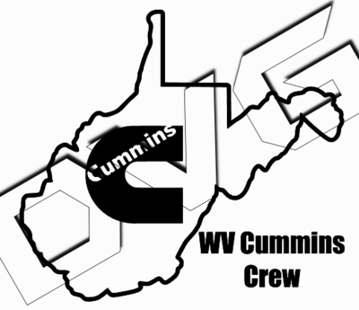 West Virginia Cummins Crew Decal