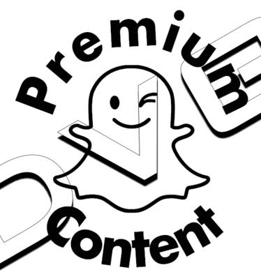Snapchat Premium Conten