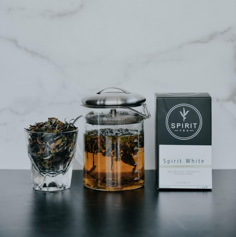 Spirit Tea - White