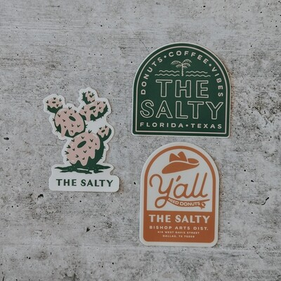 The Salty Stickers