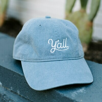 Y'all Denim Hat