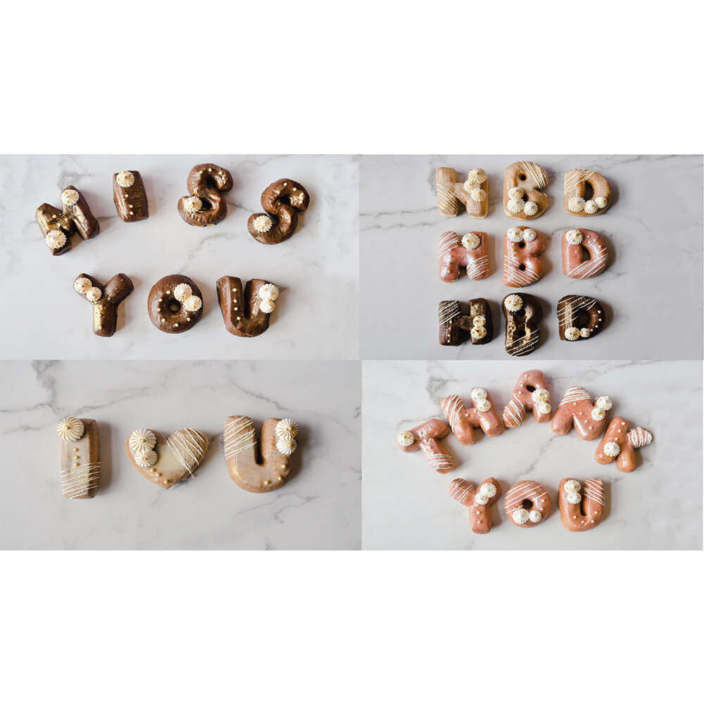 Donut Letter Packs