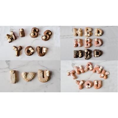Donut Letter Packs