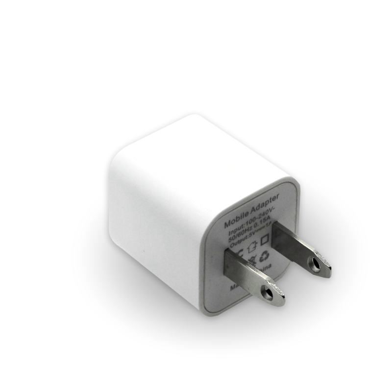 White USB Charger 0.15 A