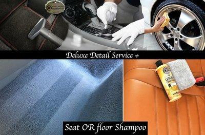 Deluxe + Partial Shampoo