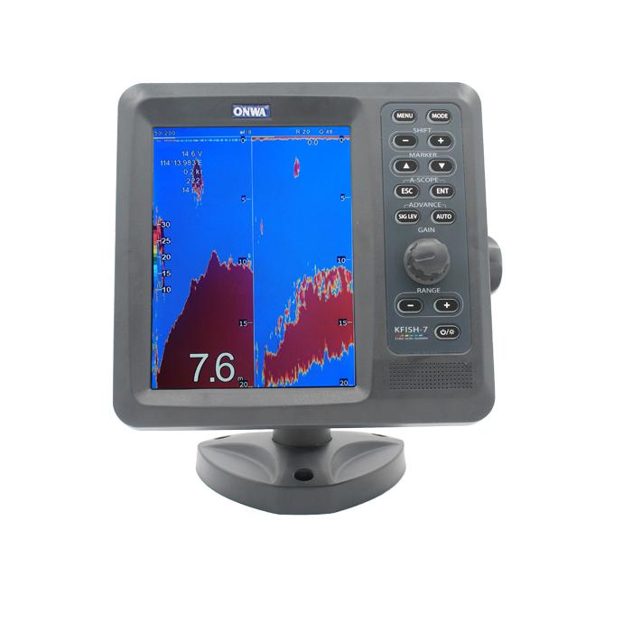 "ONWA 7"" Colour Digital Fishfinder - KFish-7"