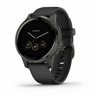Garmin Vivoactive 4s - Black with Slate Hardware