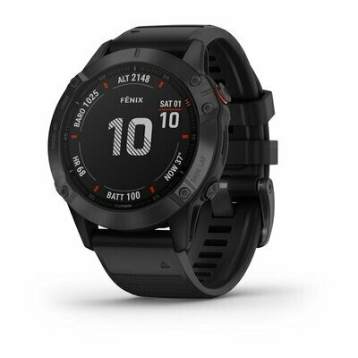 Garmin Fenix 6 Pro - Black w/ Black Band