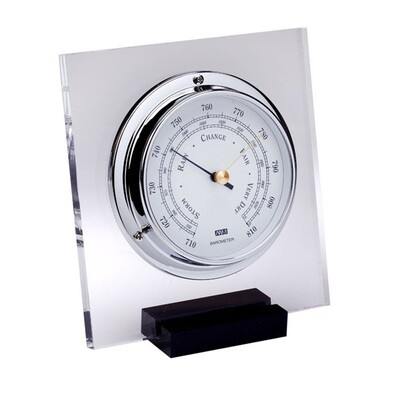 ANVI 30.0431 Barometer - Chrome Plexiglas - Low Altitude