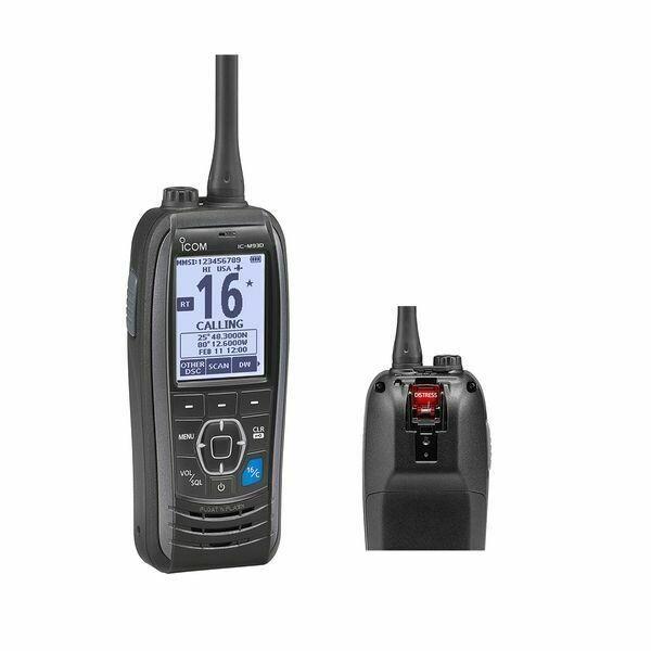 Icom M93D Marine Handheld VHF Radio w/ GPS & DSC
