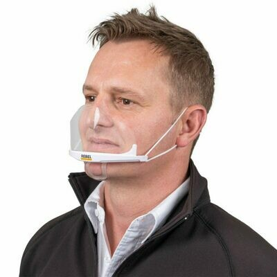 Rebel Mouth Shield (Pack of 10)