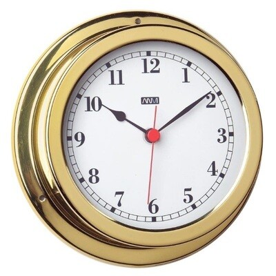 ​ANVI 32.0386 Clock – Polished Brass & Lacquered