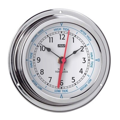 ANVI 32.0755 Tide Clock - Polished Brass & Chromed