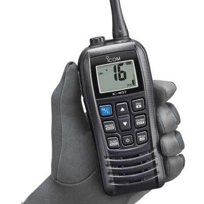 Icom M37 Marine Handheld VHF Radio