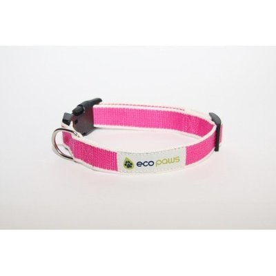 Eco Paws Bamboo Collar lrg Pink