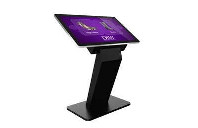 Touch Screen Kiosk with dual OS