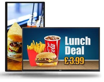 Digital Menu Boards | TV Menu Board (Standard)