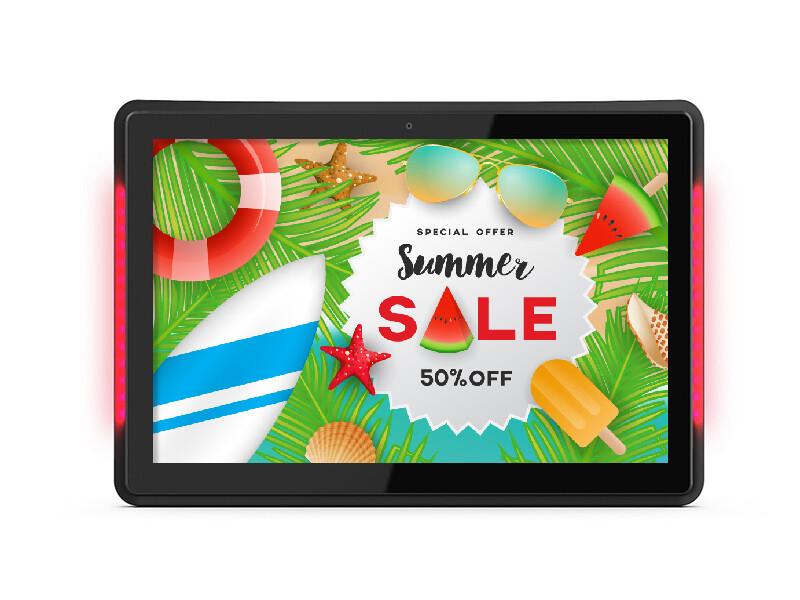 POS Network Advertising Display | Tablet Advertising